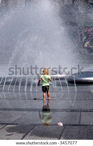Wet - stock photo