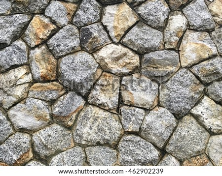 wet old grunge stone wall texture background