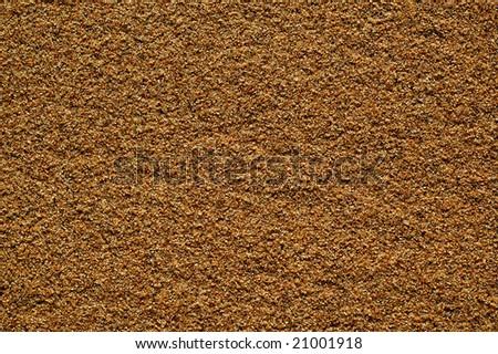 Wet sea sand, background - stock photo