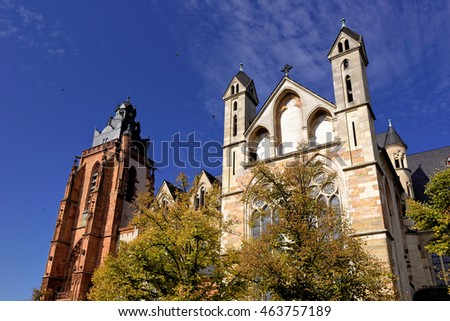Wetzlar cathedral, germany
