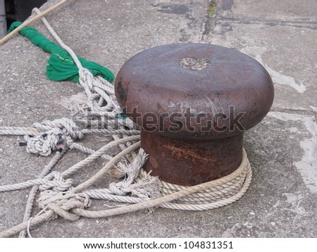 wharf - stock photo