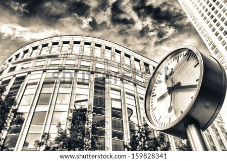 What's time is it ? - stock photo