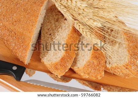 Wheat bread.