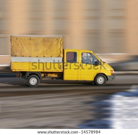 "wheeled work horse -  of ""Trucks"" series in my portfolio - stock photo"
