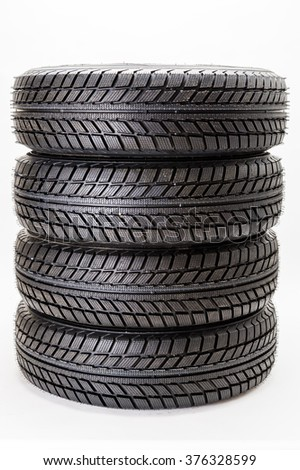 wheels for cars - stock photo