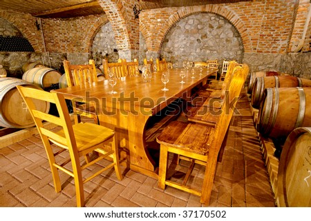 Whine cellar & Whine Cellar Stock Photo (Royalty Free) 37170502 - Shutterstock