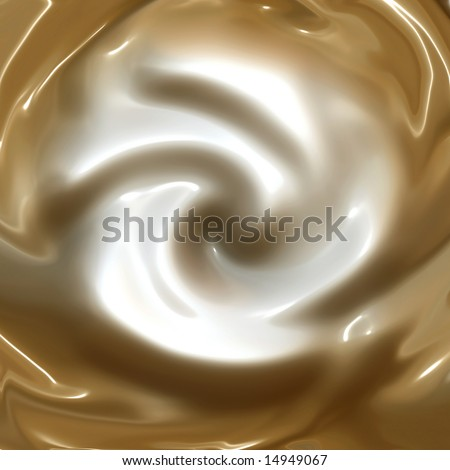 Whipped Cream, Coffee, Or Hot Chocolate - stock photo