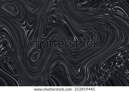 Whirl dark ellipse movement background. Abstract stripy warped wave with texture - stock photo