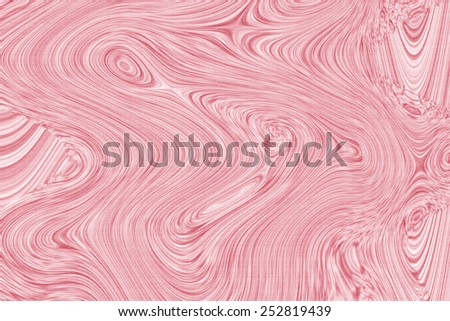 Whirl pink ellipse movement background. Abstract stripy warped wave with texture - stock photo