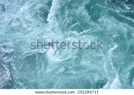 Whirlpool c - stock photo