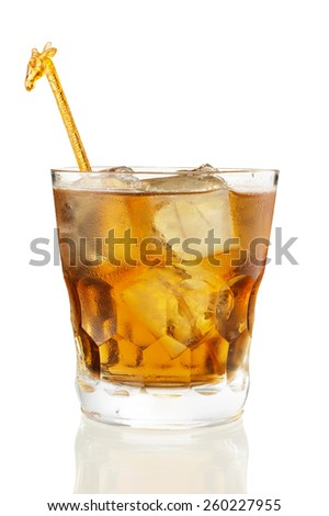 Whiskey Cocktail - stock photo