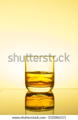 Whiskey drinks - stock photo