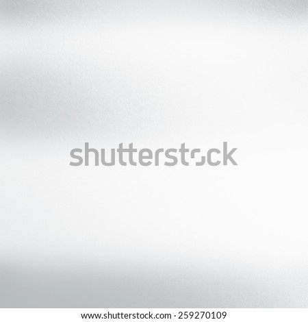 white abstract background metal texture, whiteboard - stock photo