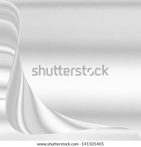 white abstract background silver metal texture may use as wedding or greeting card template