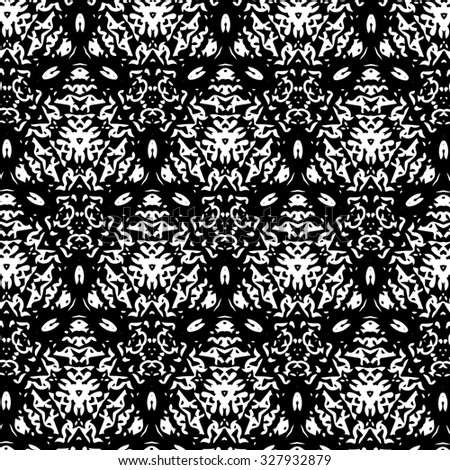 White and black patterns. A