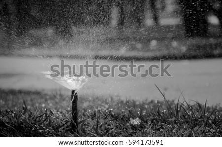 Sprinkler System Stock Images Royalty Free Images
