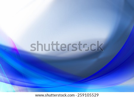 White and blue abstract business background - stock photo