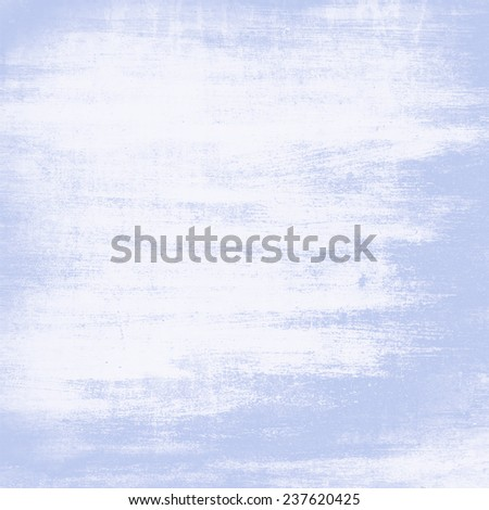white and blue painted wall texture grunge background  - stock photo