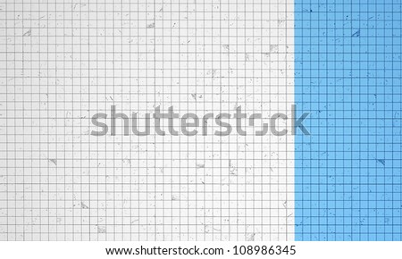 white and blue relief background - stock photo