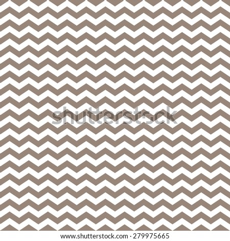white and brown chevron pattern background, seamless texture