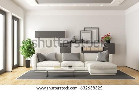 Minimalist Interior Stock Images RoyaltyFree Images Vectors