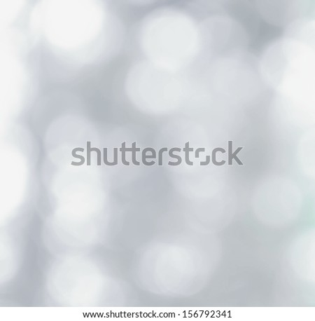 White and gray  Natural Defocused Bokeh lights  background  - stock photo
