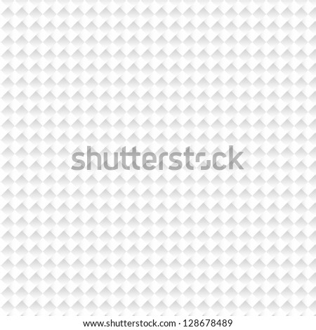 white and gray squere teture - stock photo
