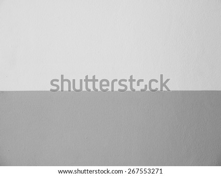 white and gray wall background - stock photo