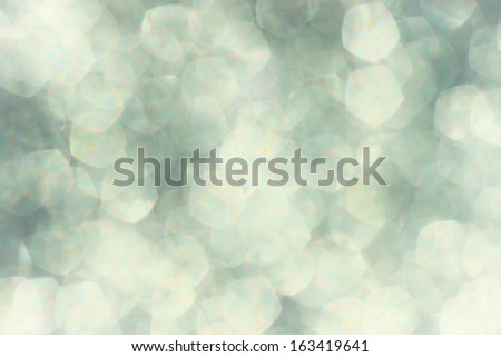 white and grey soft bokeh lights. dreamy defocused background - stock photo