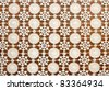 White antique lace pattern - stock photo