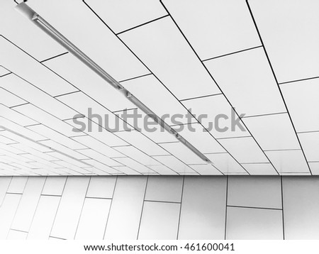 White architecture in modern building, abstract texture background.
