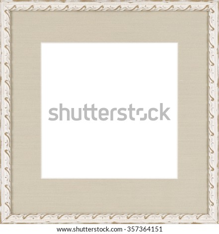 white art picture frame