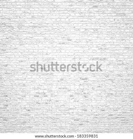 white background brick texture - stock photo