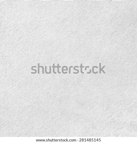 white background canvas texture - stock photo