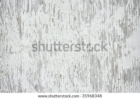 white background of old barn door - stock photo