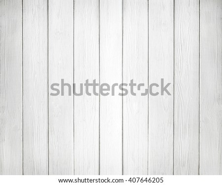 White background of wooden planks - stock photo
