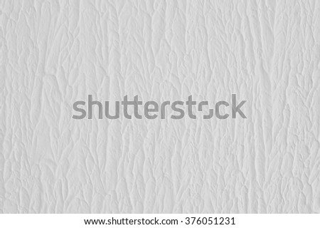 white background, plaster, wavy structure - stock photo