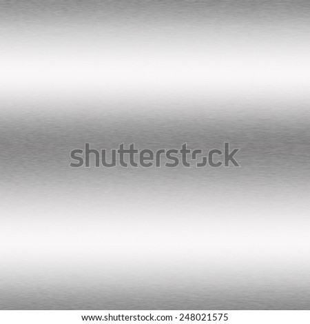 white background silver metal texture - stock photo