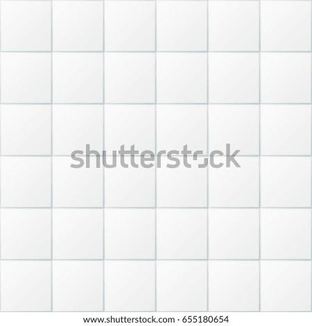 White bathroom tiles  ceramic kitchen floor tile seamless background  Tiled  floor or wall for. White Bathroom Tiles Ceramic Kitchen Floor Stock Illustration