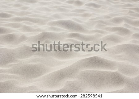 white beach sand background - stock photo