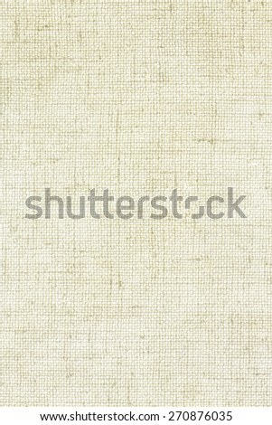 White Beige Linen Texture or Background/ Linen Texture - stock photo