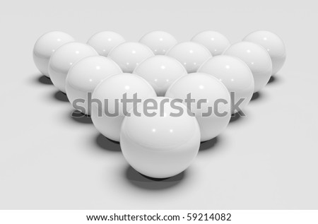 White billiards