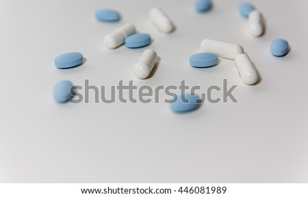 White & Blue Pills