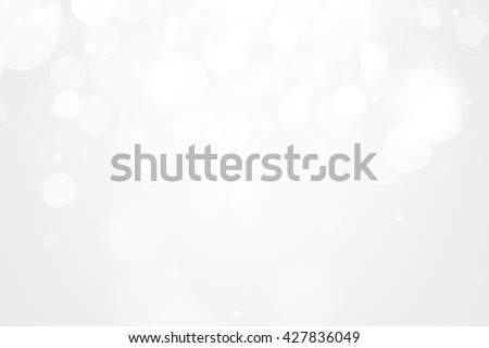 white blur abstract background. bokeh, christmas blurred, abstract holiday background. beautiful shiny Christmas lights. abstract background with a white Light silver - stock photo