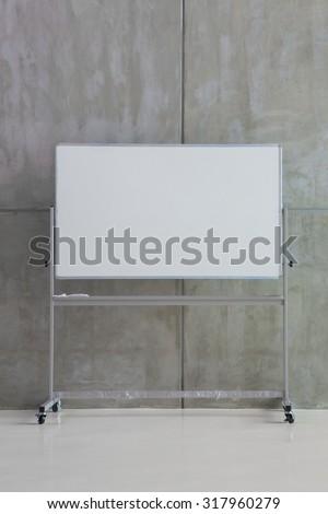 White Board - stock photo