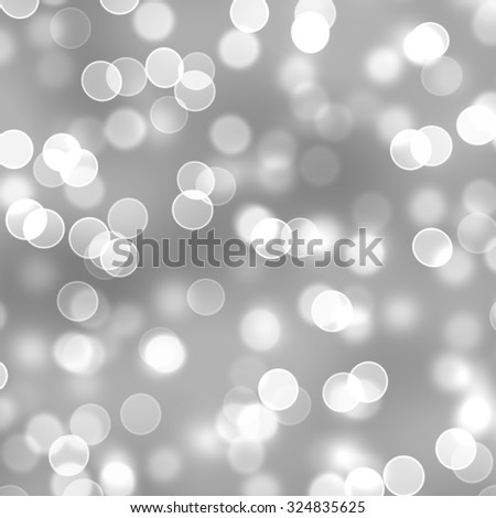 white bokeh background - stock photo