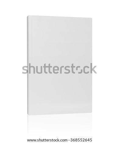 white book cover - stock photo