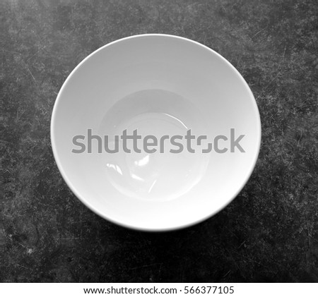 white bowl on the table