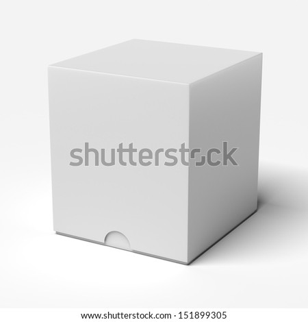White box - stock photo