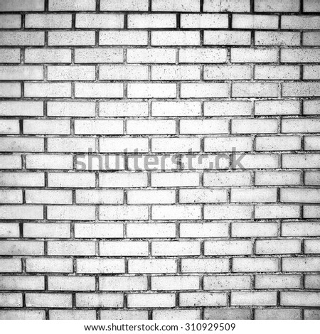 White Brick Wall Background Outdoor Stock Photo 738048445